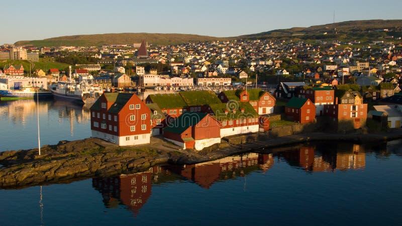 Torshavn fotos de archivo