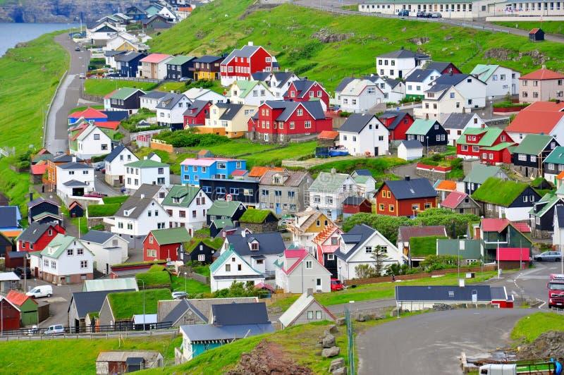 Torshavn, isole faroe immagini stock libere da diritti
