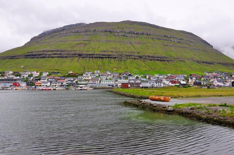 Torshavn Streymoy, Faroe Island royaltyfri fotografi