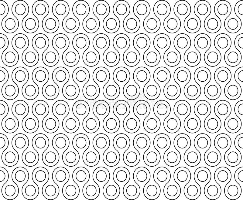 Torsion rundet nahtloses Muster lizenzfreie abbildung