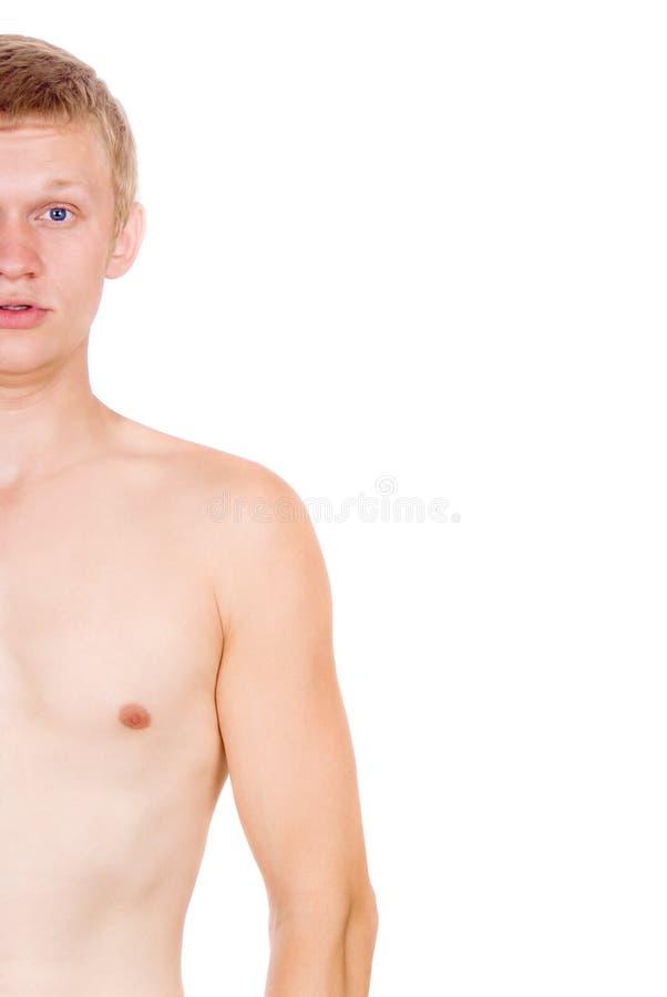 Torso maschio, nudo fotografia stock libera da diritti