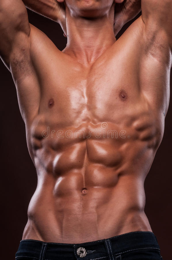 Torso With Six Pack Royalty Free Stock Image - Image: 24480926