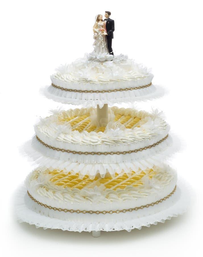 tort ślub obrazy royalty free