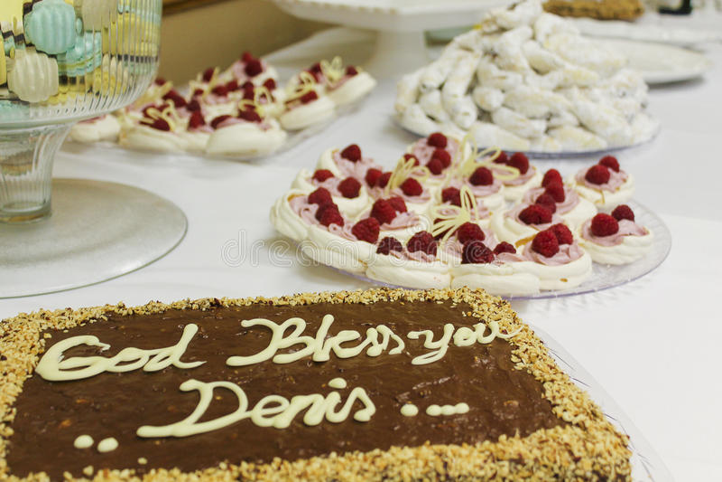 Tort i ciastka obrazy royalty free