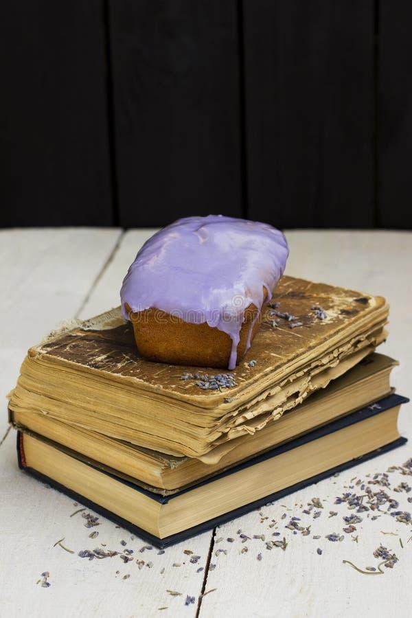 Tort z glazerunkiem zdjęcie stock