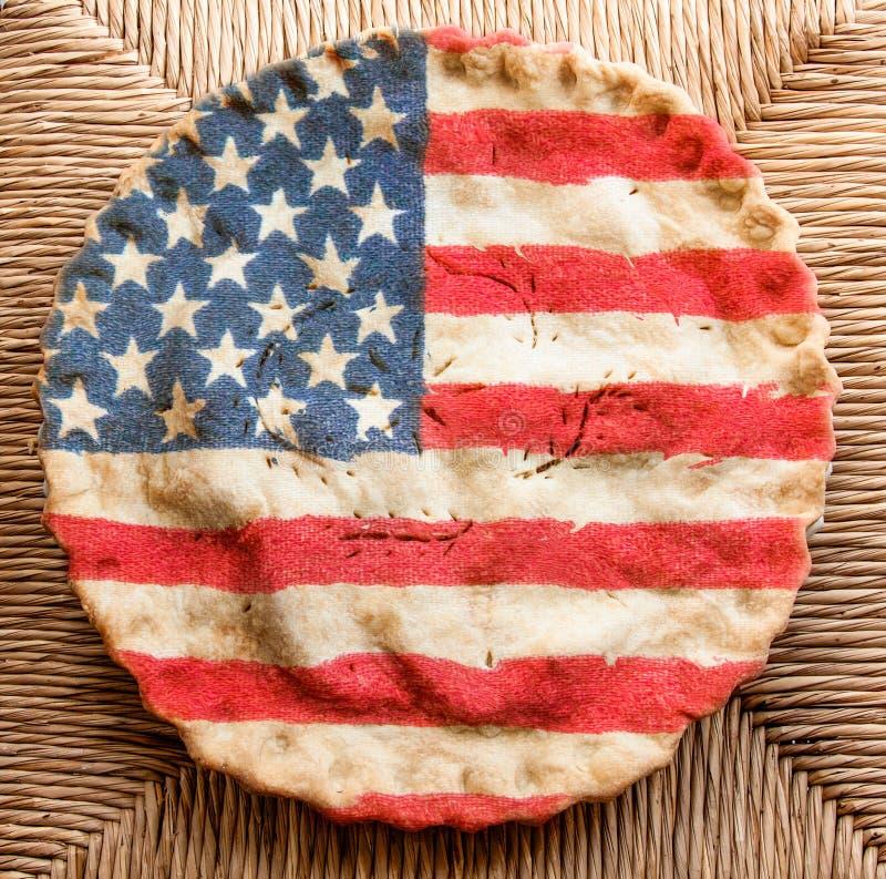 Torta americana fotografia stock