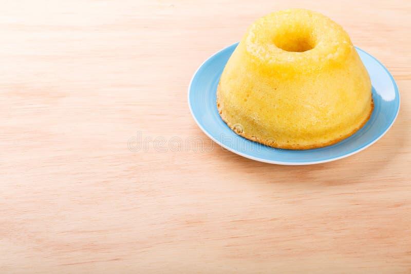 Torta anaranjada del postre dulce brasileño foto de archivo libre de regalías