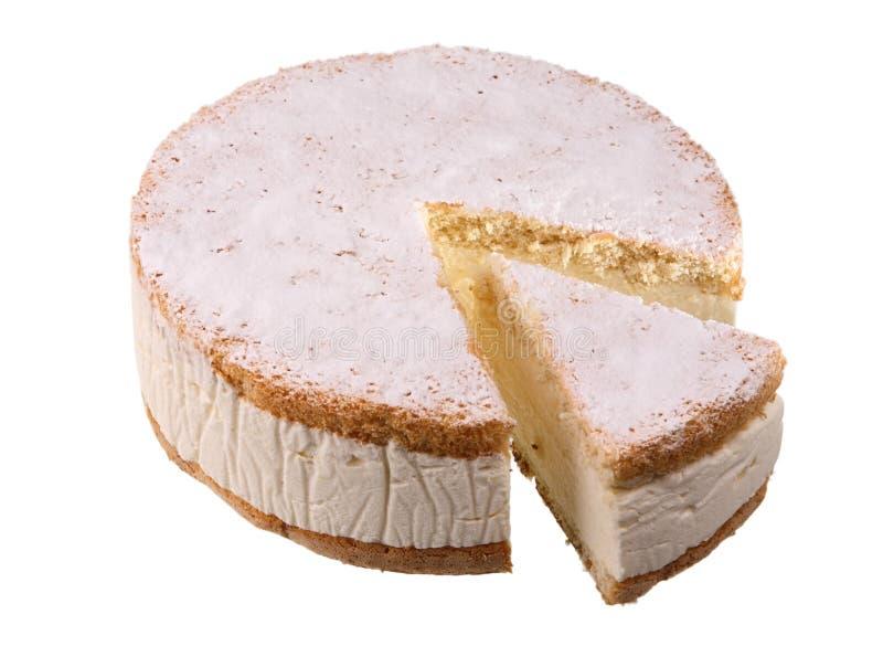 Torta con requesón imagen de archivo