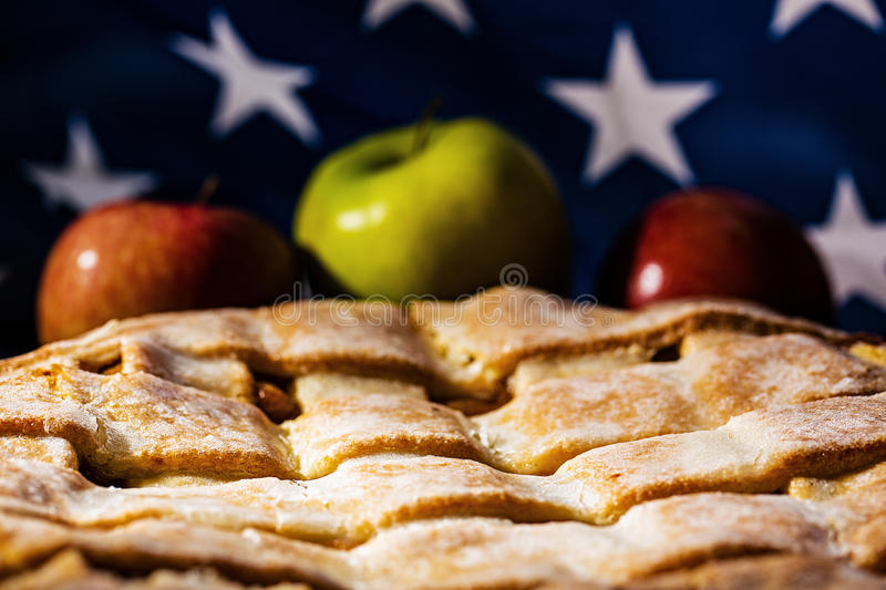 Torta de Apple fotografia de stock royalty free
