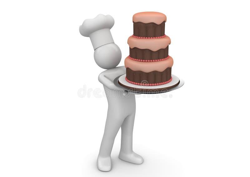 Torta de Biiiiiig libre illustration
