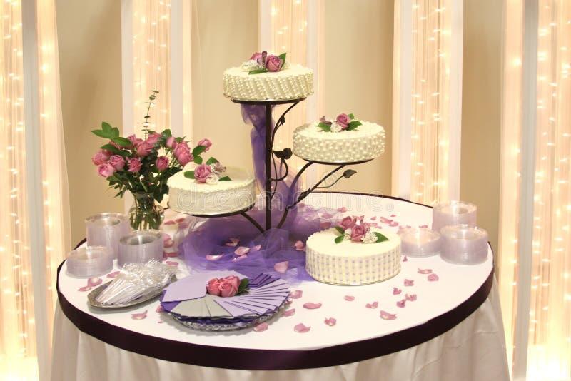 Torta de boda fotos de archivo libres de regalías