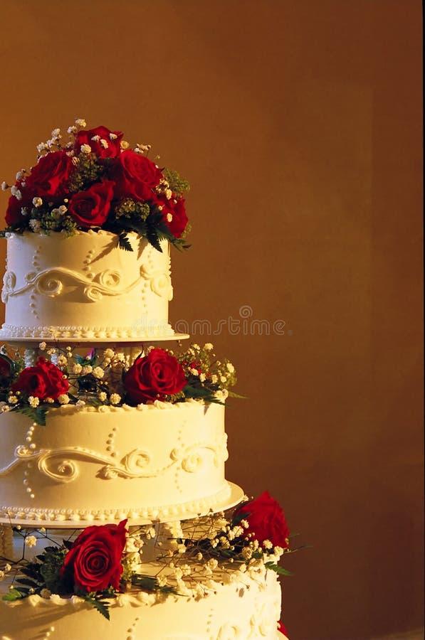 Torta de boda fotografía de archivo