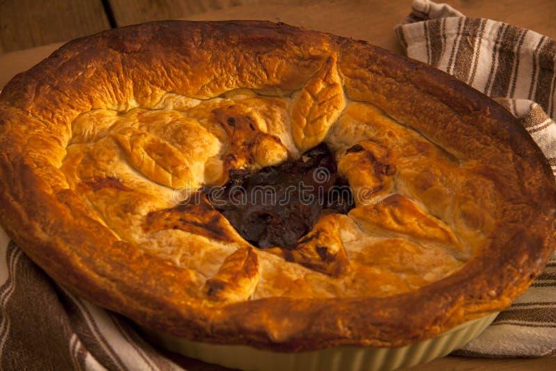 Torta de carne. imagens de stock