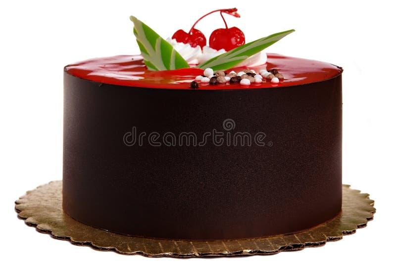 Torta de chocolate imagenes de archivo