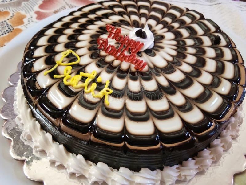 Torta de chocolate deliciosa imagen de archivo libre de regalías