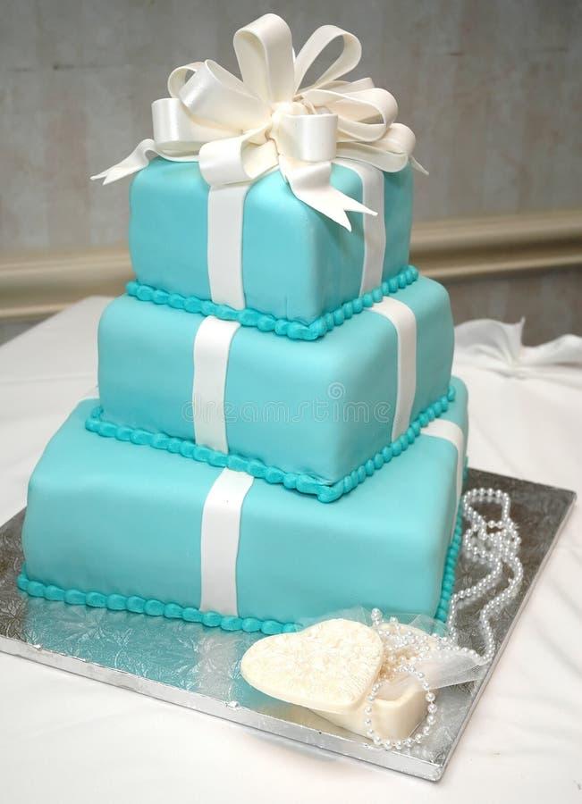 Torta de cumpleaños formal fotos de archivo