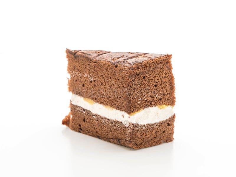 Torta de gasa del chocolate imagen de archivo libre de regalías