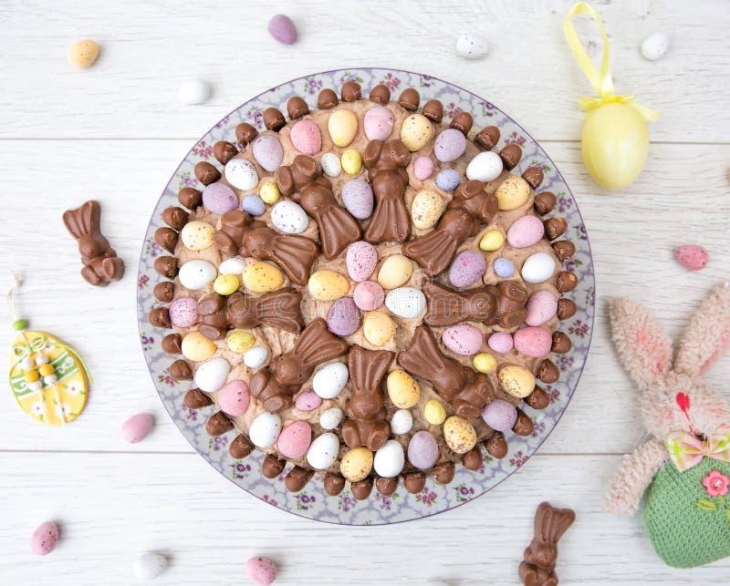 Torta de la celebración de Pascua foto de archivo libre de regalías