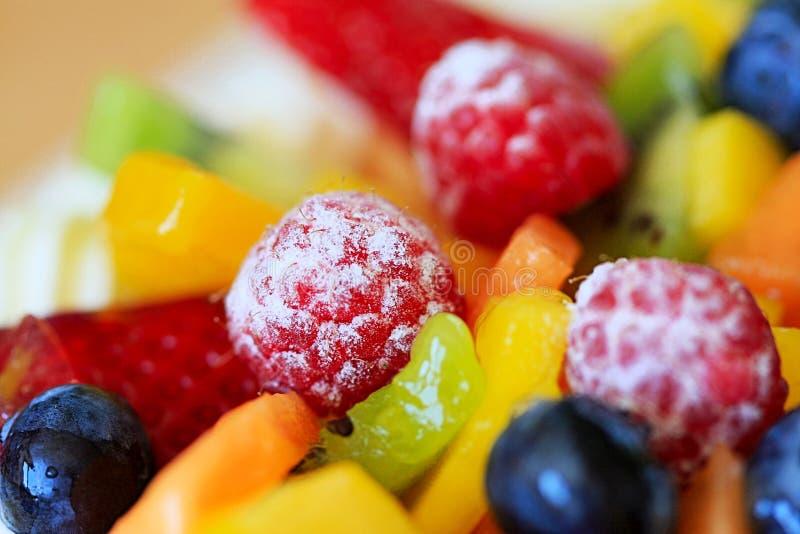 Torta de la fruta foto de archivo