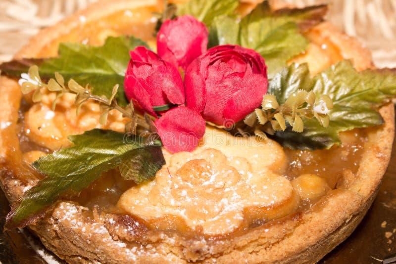 Torta de la fruta con las naranjas y los pasteles italianos de Crémona del limón imagen de archivo libre de regalías