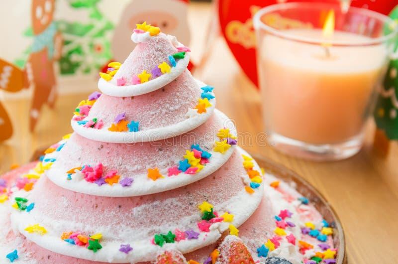 Torta de la Navidad para el partido imagen de archivo libre de regalías