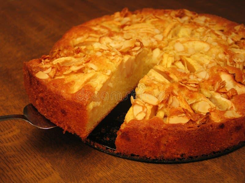 Torta de maçã da acção de graças fotografia de stock