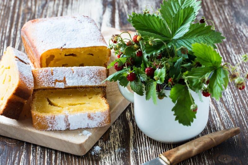 Torta de maíz hecha en casa fotografía de archivo libre de regalías