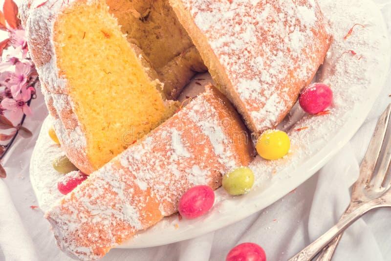 Torta de Pascua foto de archivo
