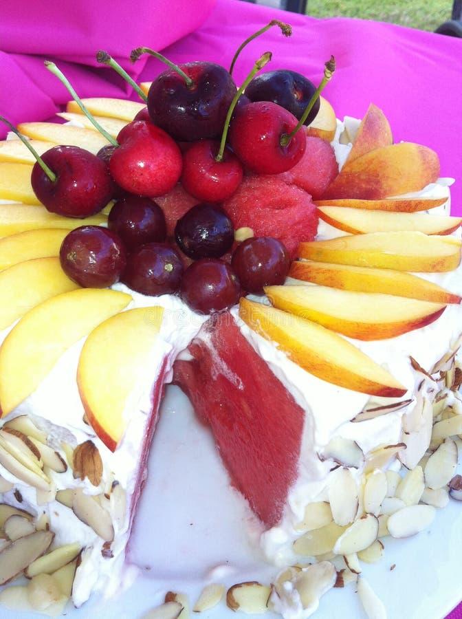 Torta de Watermellon imagenes de archivo