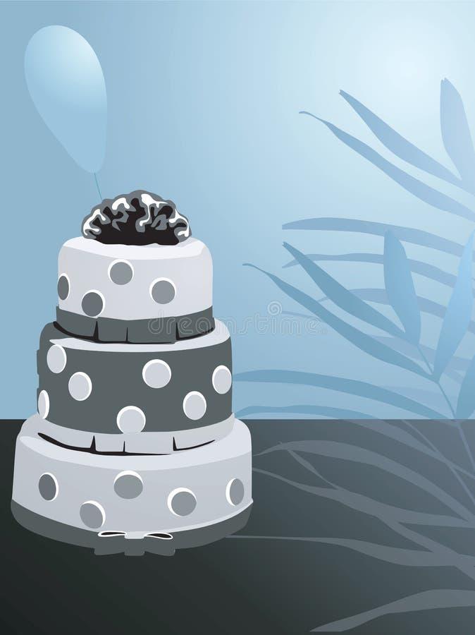 Torta decorata royalty illustrazione gratis