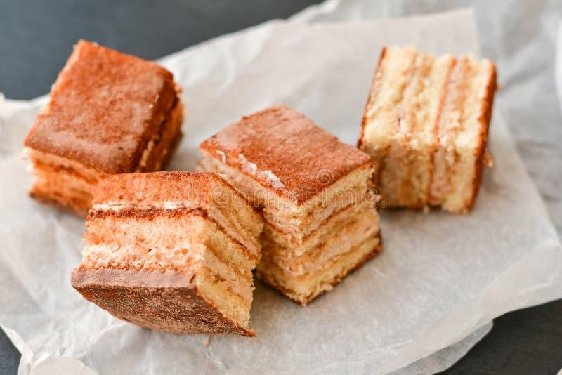 Torta del cacao imagenes de archivo