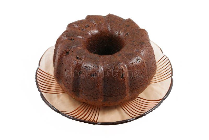 Torta del cacao imagen de archivo libre de regalías