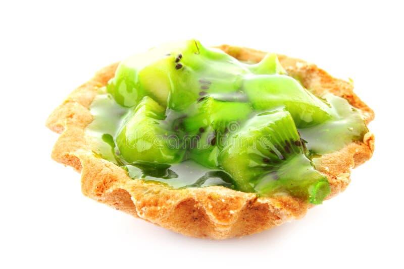 Torta del kiwi della frutta fotografie stock