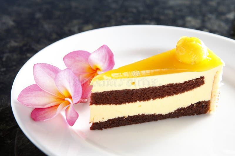 Torta del mango foto de archivo libre de regalías