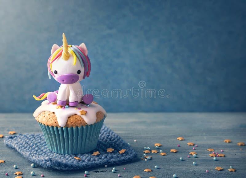 Torta del unicornio imagenes de archivo