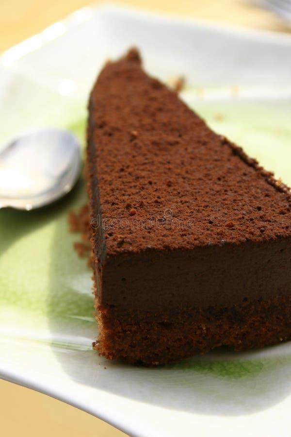 Torta di Chocolat immagine stock