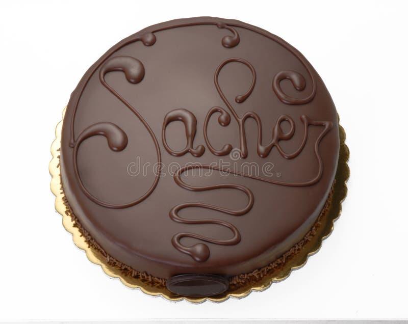 Torta di cioccolato illustrazione vettoriale
