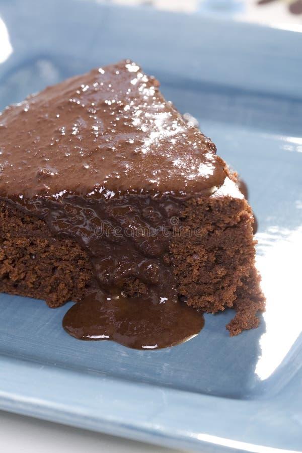 Torta di cioccolato messicana fotografie stock