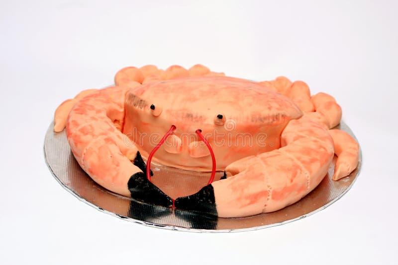 torta di compleanno a forma di del granchio immagine stock