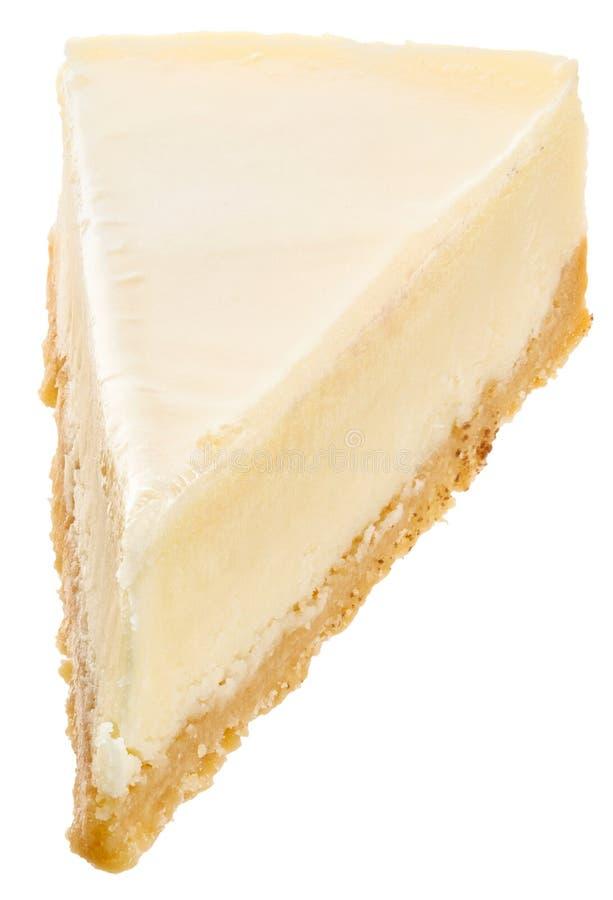 Torta di formaggio bianca classica immagine stock libera da diritti