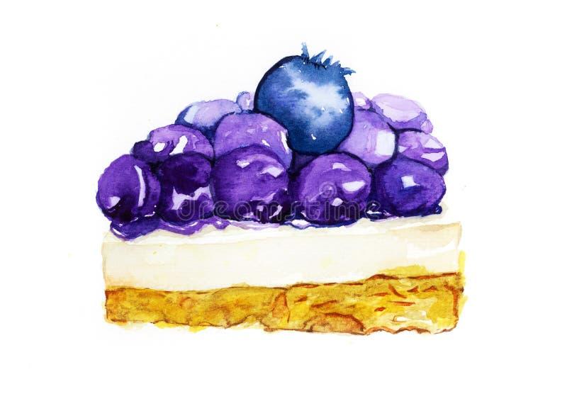 Torta di formaggio dei mirtilli immagine stock libera da diritti