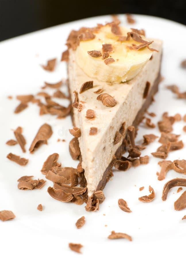 Torta di formaggio del cioccolato fotografia stock
