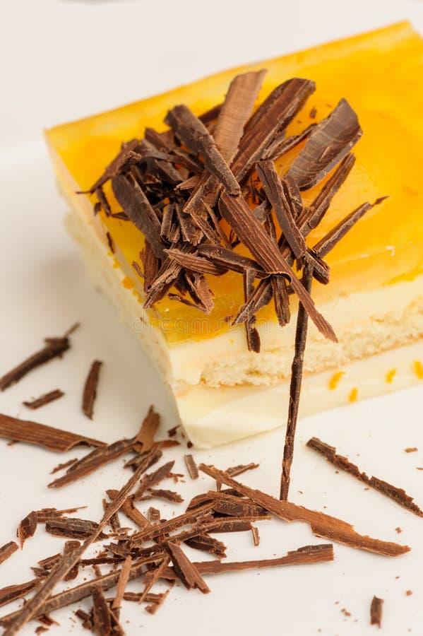 Torta di formaggio stratificata immagini stock libere da diritti