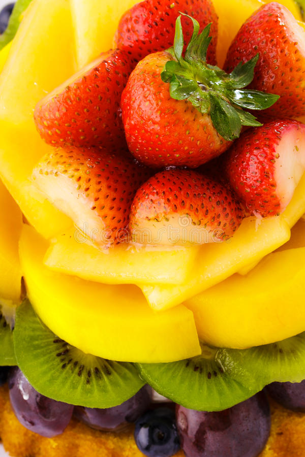 Torta di frutta immagine stock
