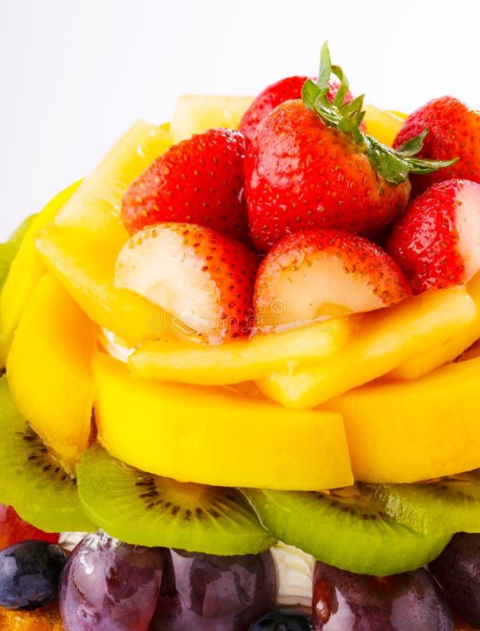 Torta di frutta immagini stock libere da diritti