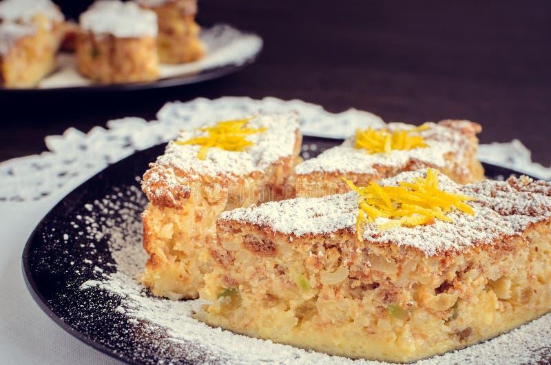 Torta di riso 免版税库存照片