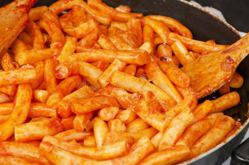 Torta di riso fritto immagini stock libere da diritti