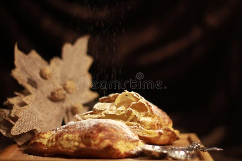 Torta di zucca dello zucchero fotografia stock libera da diritti