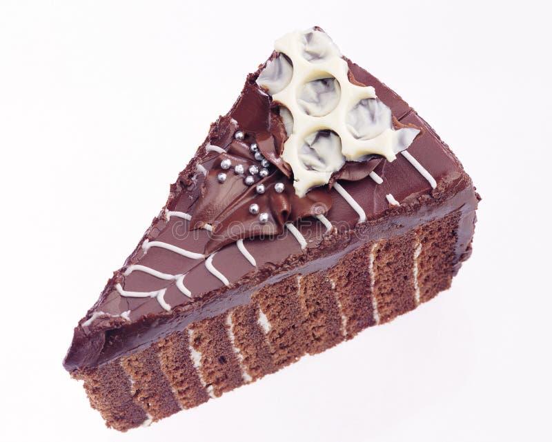 Torta do chocolate fotos de stock