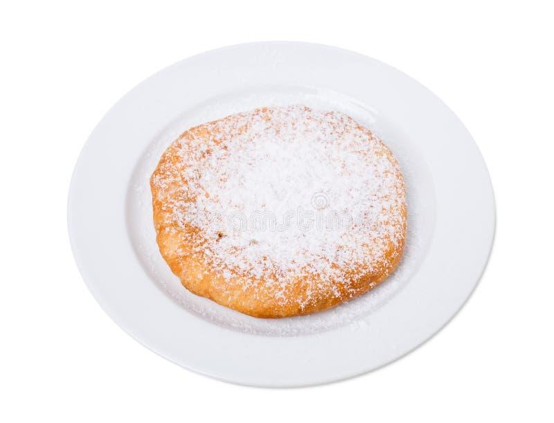Torta dolce deliziosa con la ricotta immagini stock